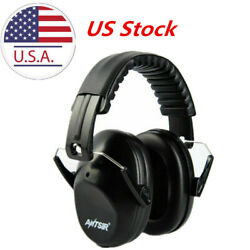 US 31dB Foldable Noise Reduction Shooting Hearing Protection Ear Muffs Black
