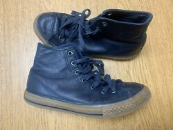 Converse All Star Boys Size 3 Skateboarding Athletic Leather Shoes $19.99