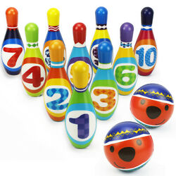 Kids Bowling Play Set gift toys for 2345 year old boy girl birthday gift