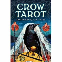Crow Tarot NEW Deck and Booklet Set by MJ Cullinane 2019 3x5quot; Raven Cards $23.99
