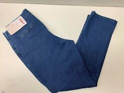 Chic Classic Collection Women's Easy Fit Pull On Jeans Mid Shade 12 Regular $14.99