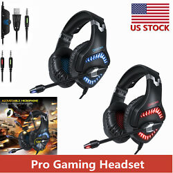ONIKUMA K1 Pro Gaming Headset Stereo PC Headphones for PS4 New Xbox One with Mic