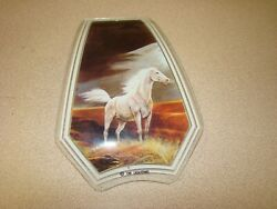1 Glass Replacement Shades for Touch Me Lamps HORSE $20.00