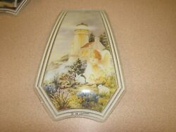 1 Glass Replacement Shades for Touch Me Lamps LIGHTHOUSE AND ANGEL $20.00