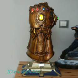 In Stock Thanos Infinity Gauntlet 11 Scale LED Light Remote Control With Stand