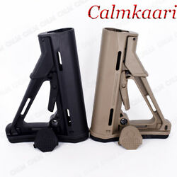 CTR Collapsible Locking Defense Stock Enhanced Upgrade w Pad& QD Mount Mil-Spec