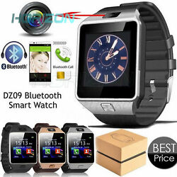 DZ09 Bluetooth Smartclever Watch For HTC Samsung Android Phone Camera SIM Card