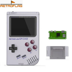 Retroflag GPi CASE for Raspberry Pi ZeroZero W with Safe Shutdown in US Stock
