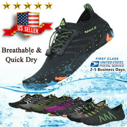 Water Shoes Quick Dry Barefoot for Swim Diving Surf Aqua Sport Beach Vaction $18.99