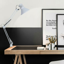 Adjustable Swing Arm Light Drafting Design Office Studio C-Clamp Table Desk Lamp