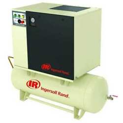 INGERSOLL RAND UP6-5-12580-460-3 Rotary Screw Air Compressor5 HP3 Ph