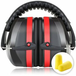 Safety Protectors Ear Defenders Earmuffs Adjustable Headband Safe Sound 34dB NRR
