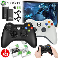 Wireless Game Controller Gamepad Joystick Pad for Microsoft Xbox 360