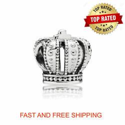 Authentic Pandora ROYAL Crown Charm Sterling Silver S925 #790930