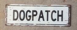 Dogpatch San Onofre State Beach California Surf Surfing USMC Vintage Steel Sign