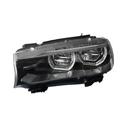 For BMW X5 15-18 Replace Driver Side Replacement Headlight Lens