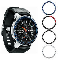 2PACK SAMSUNG Galaxy Watch 4246mm Gear 3 Metal Bezel Ring Case Cover Protection