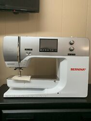 Bernina 750 QE Sewing MachineEmbroidery Module