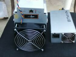 Antminer L3+ 505 ASIC With HP PSU FREE Shipping Same Day Ship! $200.00