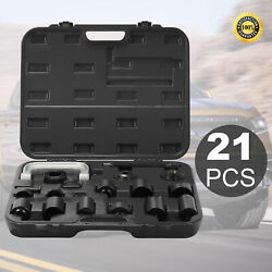 21Pieces Auto Repair Service Remover Ball Joint Press Tool Master Adapter Kit $51.97