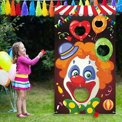 Carnival Toss Games with 3 Bean Bag Fun Carnival Game for Kids and Adults in Ca
