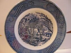 Currier & Ives by Royal The old grist mill 10
