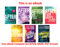 After Series (1-7) by anna todd Complete Set [ E-B00K PDF EPUB]