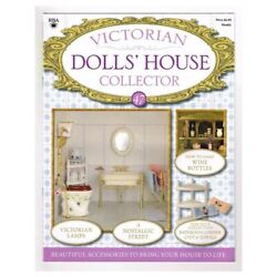 Victorian Dolls#x27; House Collector Magazine No.47 mbox40 Victorian Lamps GBP 3.95