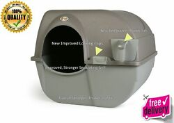 New Cat Litter Box Self Cleaning Automatic Roll Clean Removable Tray Waste Scoop $48.35