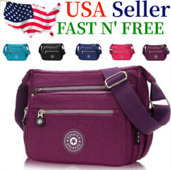 Waterproof Messenger Cross Body Ladies Handbag Bag Shoulder Bag Womens Purse $12.69