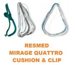 ResMed Mirage Quattro Cushion & Clip Full  XS 61290 S 61291 M 61292 L 61293 New