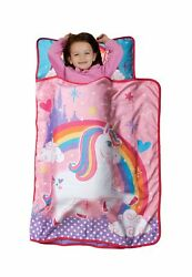 Baby Boom Nap Mat Set - Includes Pillow and Fleece Blanket Great for Boys Girls