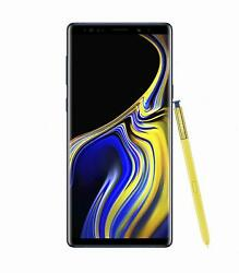 Samsung Galaxy Note 9 SM N960U 128GB   Ocean Blue AT&T -VERY GOOD