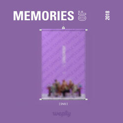 BTS - MEMORIES OF 2018 DVD PRE-ORDER BENEFIT ROLLER BANNER