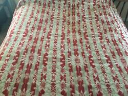 ~Back In Time Textiles~Beautiful Antique 1840 Coverlet signed & dated very nice
