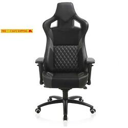 Esports Gaming Memory Foam Chair-Larger Size Racing Style Ergonomic Reclining Sw