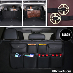Large Capacity Car Trunk Seat Back Storage Bag Multi-Use Interior Accessories