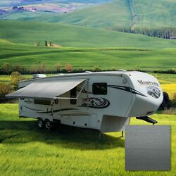 RV Awning Fabric 12 22 Feet Width Camper Vinyl Awning Replacement Shade 8#x27; 96quot; $149.95