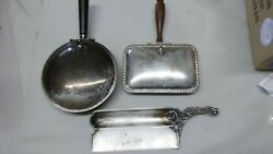 Vintage Silver Plated Silent Butlers Crumb Tray