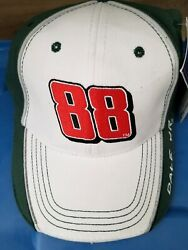 #88 CHASE AMP ENERGY ELEMENT WHITE  GREEN PIT HAT CAP DALE EARNHARDT JR NWT
