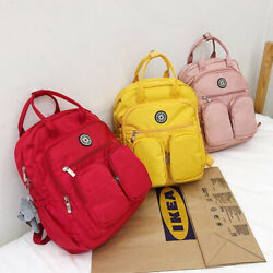 Women Backpack Multi-pocket Large Capacity Waterproof Bag Travel School Shoulder
