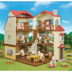 CALICO CRITTERS #CC1796 Red Roof Country Home Kids Gift Set Factory Sealed New $95.19