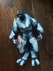 2012 Blue Elite Ultra Officer Zealot Todd McFarlane Action Figure Halo Reach