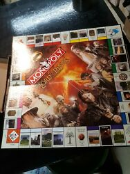 Monopoly Lord Of The Rings Trilogy Collectors Edition Game Board ONLY Characters
