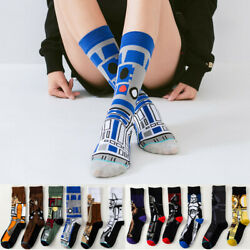 US Star Wars Stockings M.Yoda Cosplay Socks Wookie Jedi Knight Novelty Socks $5.99