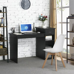 Computer Study Writing Desk Laptop Table Small Spaces with Drawer Home Office $149.99