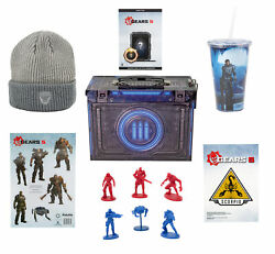Gears of War 5 Collectors Looksee Ammo Tin with Exclusive DLC