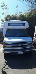 2002 CHEVY 17 PASSANGER  SHUTTLE BUS