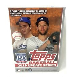 2019 Topps Update Baseball Blaster Box (7 Packs14 Cards: 1 Hit 5 Inserts)
