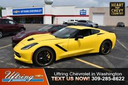 2019 Chevrolet Corvette Z51 2LT 2019 Chevrolet Corvette Z51 2LT 0 Miles Corvette Racing Yellow Tintcoat 2dr Car